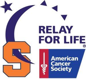 Syracuse University Logo and Relay for Life Logo