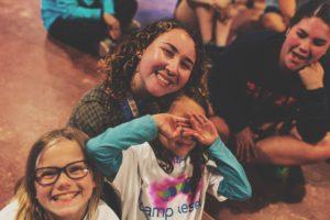 Camp Kesem kids smiling