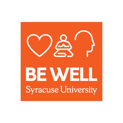 "bewell logo: orange background with 3 icons (hearth, meditating person, outline of human head) with words ""Be Well"" beneath"