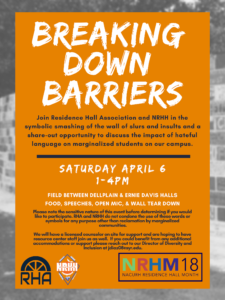 Breaking down barriers--text included on webpage