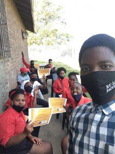 Inkululeko students receive certificates