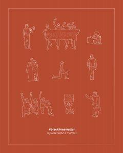 representation-matters-sketches of BLM participants