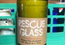 Rescue Glass Candle