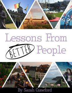 Lessons from better people cover