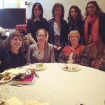 Faculty advisors at presentation day lunch
