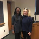 Jaye Harris and her advisor Melissa Chessher