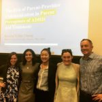 Krystal Chung with her advisor Dr. Antshel and lab members!