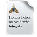 Honors Academic Integrity Policy Icon