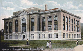 historical picture of Bowne Hall circa 1900 or so