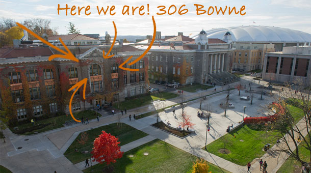 image of Bowne Hall on the Quad