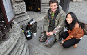 Meng Shui with the Chewing Gum Artist