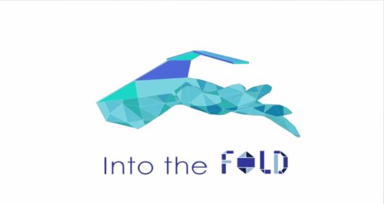 logo for into the fold