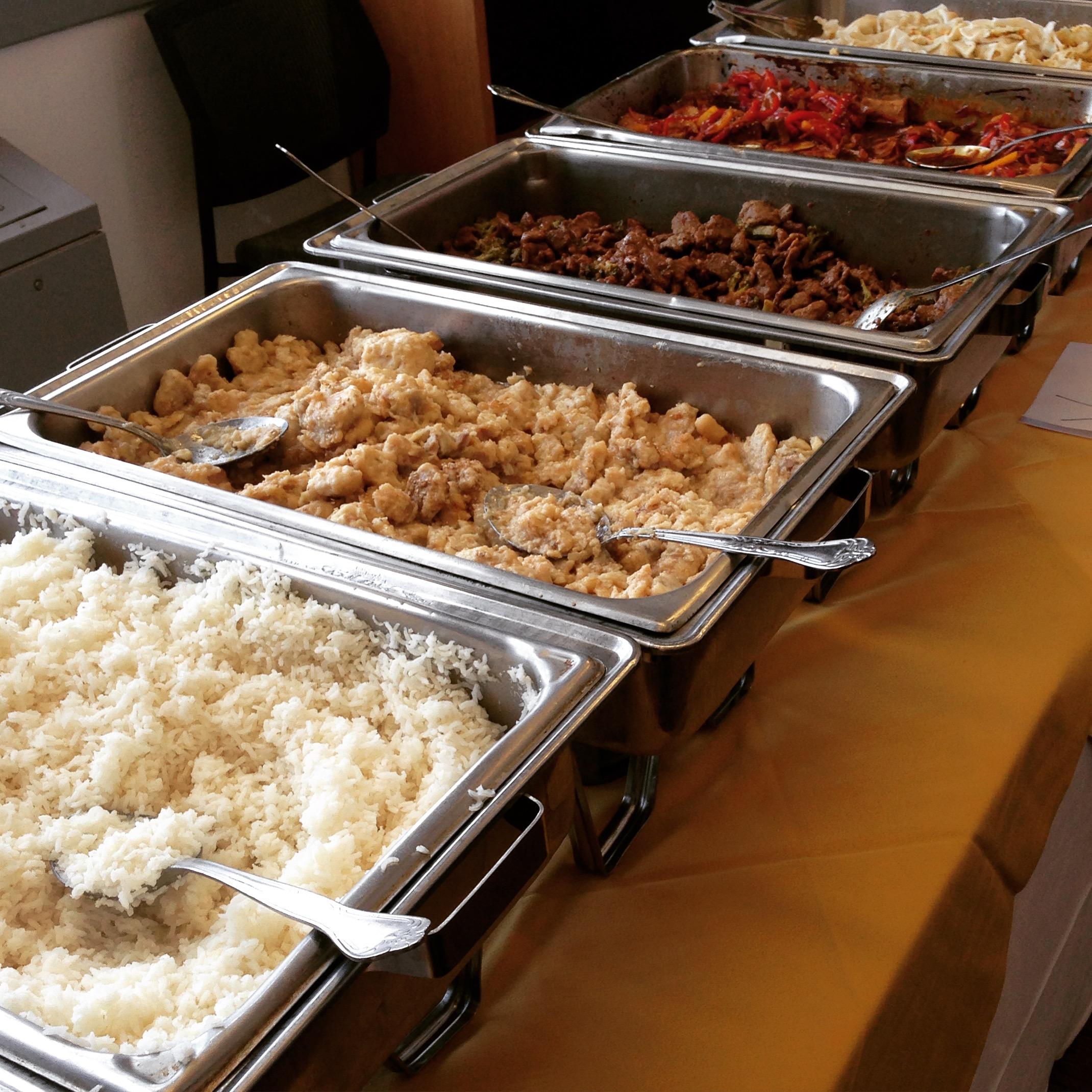 Image of buffet