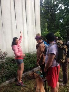 Members on foraging trip
