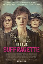 movie poster for Suffragette