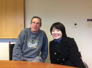 Bill Peace and Mizuki Hsu