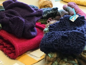knitting products from fall class