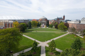photo of the quad in summer