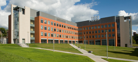 Life Science Complex Summer Exterior