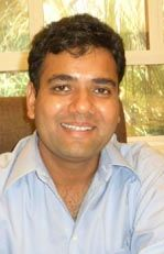 head shot of Devendra Sharma