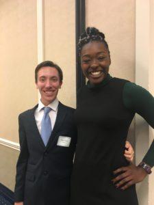 Nathan Shearn and Santita Ebangwese