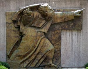 Ivan Meštrovic's Moses statue