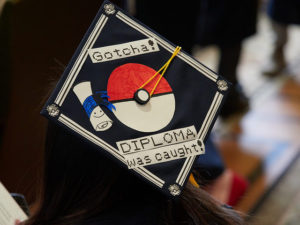Grad Cap Quotes: Gotcha Diploma was caught.