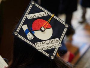 Grad Cap Quotes: Gotcha Diploma was caught.