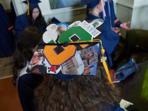 Grad Cap Quotes: Math decorations