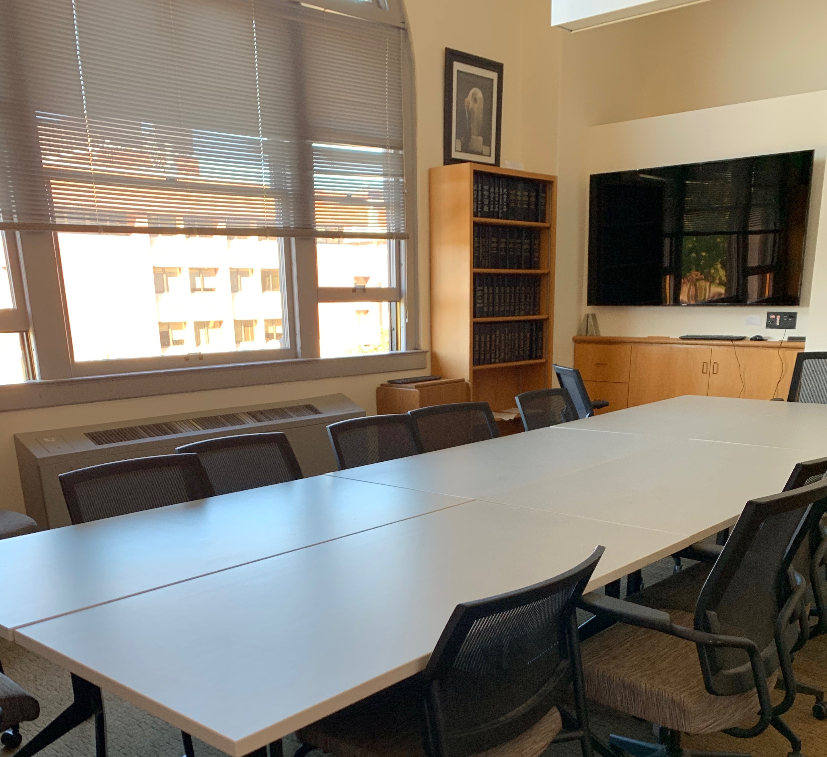 Picture of Honors library classroom