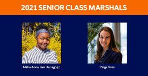 2021 Senior Class Marshalls