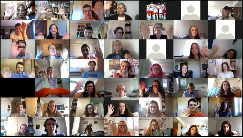 Honors Virtual Welcome Event