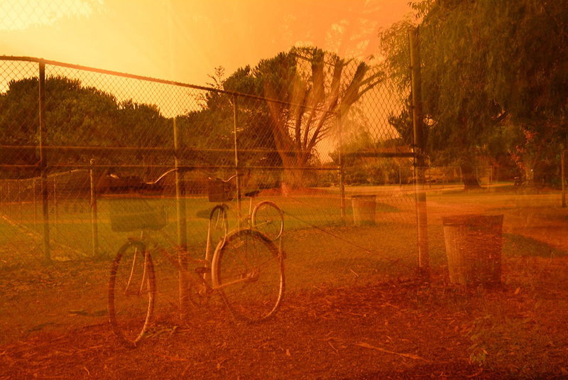 Image of California wildfire destruction
