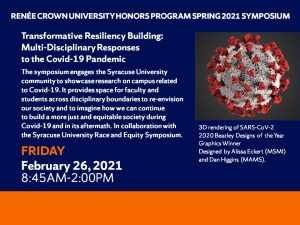 Honors COVID 19 Symposium Flier