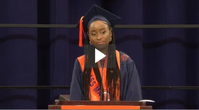 Serena Omo-Lamai address at 2020 Commencement