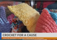 Picture of crocheted items