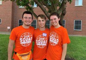 Three Honors volunteers