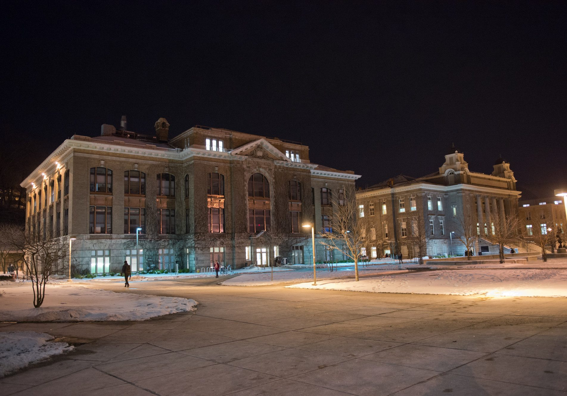Picture of Bowne Hall at Night