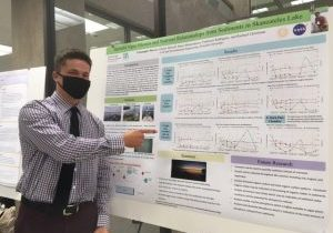 Christopher Harvey at the 2021 SOURCE Research Symposium